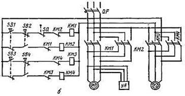 принципиальная электрическая схема кран-балки